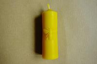Velká svíčka se včelou ze včelího vosku