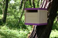 Ptačí budka Rubikus Lavender