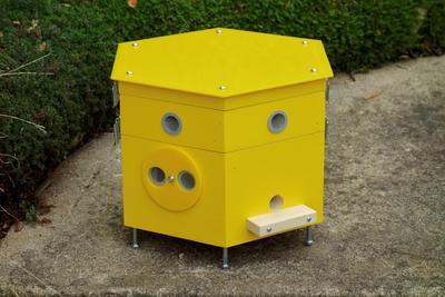 Větrací rámeček, Dijon - žlutá - 1