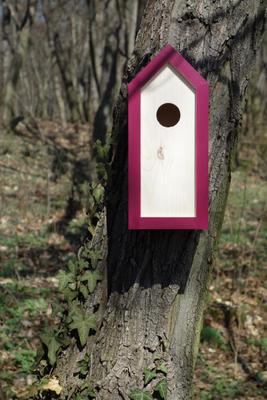 Ptačí budka Emma Burgundy - 1