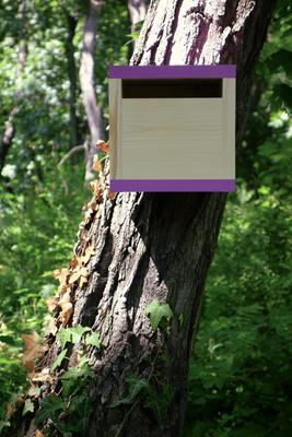 Ptačí budka Rubikus Lavender - 1