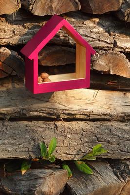 Ptačí krmítko Stella Burgundy - 1