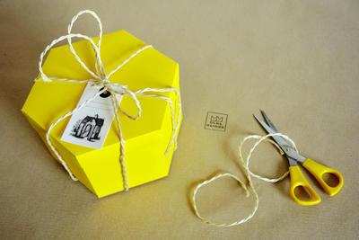 Dárková sada s Originálním čmelínem (pětidílná), Dijon - žlutá - 2