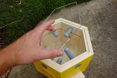 Větrací rámeček, Dijon - žlutá - 2