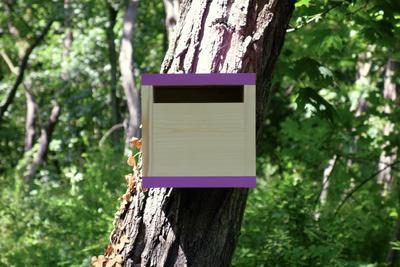 Ptačí budka Rubikus Lavender - 2