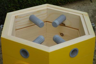 Větrací rámeček, Dijon - žlutá - 3