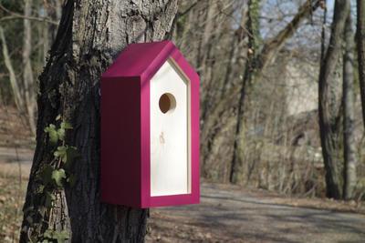 Ptačí budka Emma Burgundy - 3