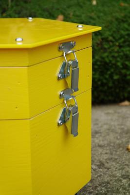 Větrací rámeček, Dijon - žlutá - 4