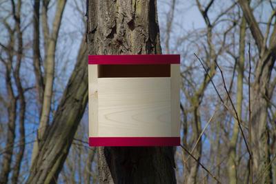 Ptačí budka Rubikus Burgundy - 4