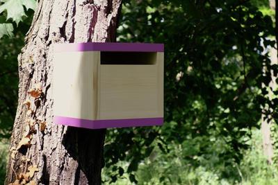 Ptačí budka Rubikus Lavender - 4