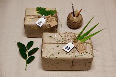 Přírodní dárkové balení - 4