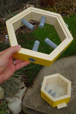 Větrací rámeček, Dijon - žlutá - 5