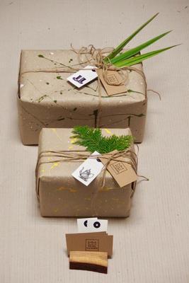 Přírodní dárkové balení - 5