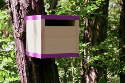 Ptačí budka Rubikus Lavender - 6
