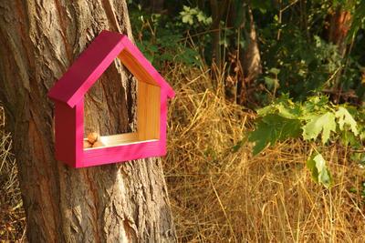 Ptačí krmítko Stella Burgundy - 6