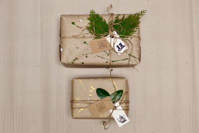 Přírodní dárkové balení - 6