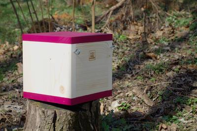 Ptačí budka Rubikus Burgundy - 7