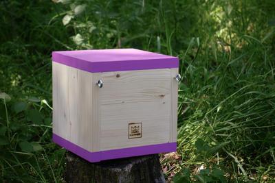 Ptačí budka Rubikus Lavender - 7